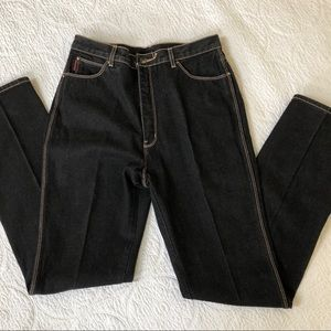 High waisted black denim Jeans